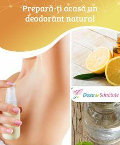 #Prepară-ți acasă un #deodorant natural  Există multe ingrediente naturale cu proprietăți benefice care pot înlocui #chimicalele din #deodorantele din comerț cu substanțe mai sănătoase, însă la fel de eficiente. În plus, aceste ingrediente sunt ieftine și ușor de găsit! Natural Deodorant, Diy Beauty, Good To Know, Health Care, Homemade, Nature, Medicine, Plant, Hand Made