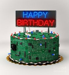 Birthday Cake For Electrical Engineer With Name prosinec dort