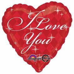 Love you diamonds foil balloon  http://www.wfdenny.co.uk/p/love-you-diamonds-foil-balloon/5238/