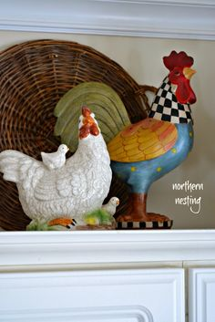 158 Best Decorating with Roosters images in 2019 | Rooster ...
