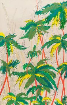 tropical pattern print