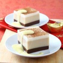 cokelat vanila kopi puding