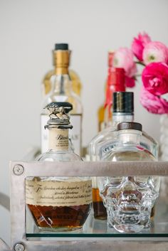 Tips for Styling a Bar Cart