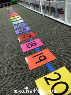 How to Teach Your Child to Read - Free Number Line Activities Your Students Will Love More Give Your Child a Head Start, and.Pave the Way for a Bright, Successful Future. Teaching Numbers, Numbers Kindergarten, Numbers Preschool, Math Numbers, Teaching Math, Kindergarten Math Activities, Numbers For Toddlers, Number Writing Practice, Subtraction Kindergarten