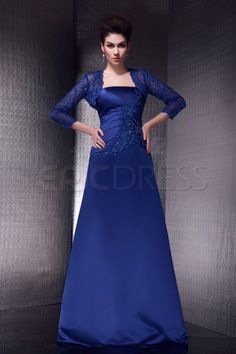 Hot Elegant A-line Strapless Sleeveless Floor-length Olga's Mother of the Bride Dress With Jacket/Shawl Mother of the Bride Dresses 2014- ericdress.com 10188515
