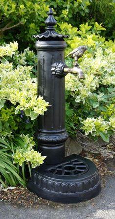 """Pemberley"" Garden Faucet or Tap stand - Garden Faucet Stands - Garden & Outdoor Living - Catalogue   Black Country Metal Works"