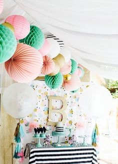 15 Pastel Baby Shower DIYs for Your Spring Baby via Brit + Co