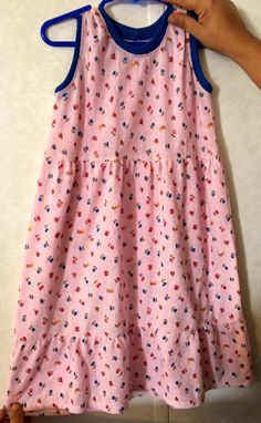 Ready to Ship Light Pink Knit Sundress Size by AnchorofHopeRanch Girl Outfits, Girls Dresses, Ship, Knitting, Clothing, Pink, Color, Tops, Women