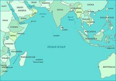 map of indian ocean   More Maps Print this map of the Indian Ocean