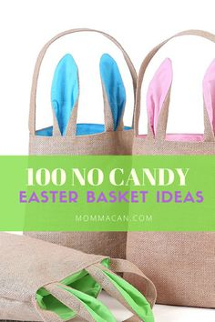 100 No Candy Easter Basket Ideas, Easy Ideas to stuff those Easter Baskets this year! Grab your list for Easter Shopping.