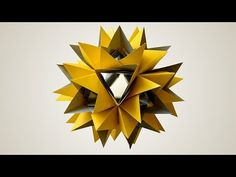 Origami Saturnia (Natalia Romanenko) - YouTube