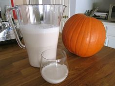 Easy almond milk recipe flavored with agave, vanilla, and cinnamon