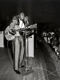 B.B King at City Auditorium, Houston, 1962