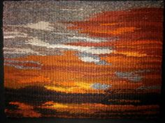 Mary Severine--Sunset at Bosque del Apache, New Mexico. 9 x 12  inches. from a photo I took at that location.
