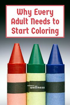 Adults! Listen up! Here's why you should grab a coloring book & crayons. | RodaleWellness.com