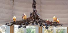 vine chain for chandelier - Google Search
