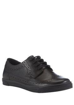 Clothing at Tesco | F&F Leather Sporty School Brogues > shoes > Shoes > School Uniform