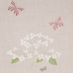 Susie Watson Designs offers a timeless collection of handmade fabrics, wallpaper, furniture, pottery, soft furnishings & gifts in her signature colour palette. Fabric Rug, Curtain Fabric, Linen Fabric, Linen Bedding, Susie Watson, Curtains With Blinds, Botanical Prints, Soft Furnishings, Hydrangea
