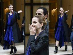 ❤NEW PHOTOS❤  ❥ — Emma mentre lascia l'hotel a Parigi  / 20.02.17  Crediti : Queen Watson   ~EmWatson