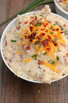 Loaded Garlic Ranch Mashed Potatoes - Whats Cooking Love?