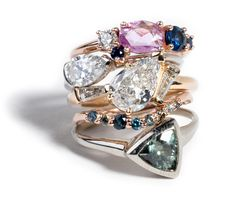 Custom Cluster Ring Stack 2