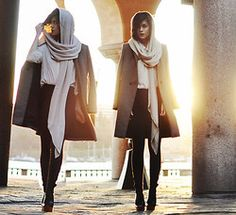 Mira Berglind - Zara Scarf, Zara Coat, Jeffrey Campbell, H&M Shirt - THERE'S A LIGHT THAT NEVER GOES OUT