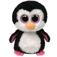 TY Beanie Boos - PADDLES the Penguin ( Beanie Baby Size - 6 inch )