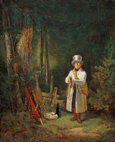Carl Spitzweg - Le chasseur de dimanche