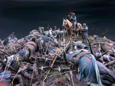 The Bordeaux archer :: The twilight of Agincourt Bataille De Waterloo, Archer, Medieval, Plastic Toy Soldiers, Military Action Figures, Military Diorama, Figure Model, American Soldiers, 14th Century