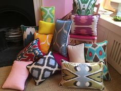 melodi horne silk lampshades and pillows