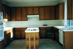 Adding height to your kitchen cabinets   My Uncommon Slice Of Suburbia