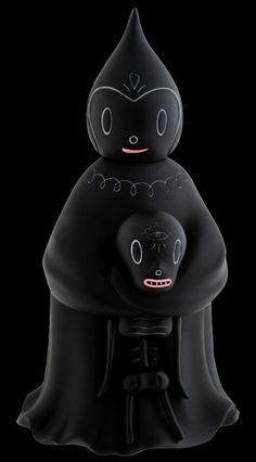 Kidrobot Black, Midnight Magi by Gary Baseman