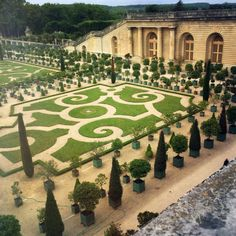 """- """"The Gardens ofVersailles are a must-see in my opinion. This is the view overlooking the beautiful citrus trees."""""""
