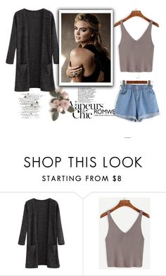 """""""Romwe 9"""" by difen ❤ liked on Polyvore featuring Anja"""