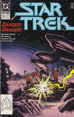"""Star Trek Archives: The Best of Peter David (Star Trek Archives- Best of Peter David): """"The Return of The Worthy: Part One"""". Join the original crew of the Enterprise in this exciting adventure set between Star Trek V and Star Trek VI. Star Comics, Free Comics, Dc Comics, Star Trek Vi, Star Wars, Star Trek Original Series, Star Trek Universe, Star Trek Enterprise, Comics Online"""