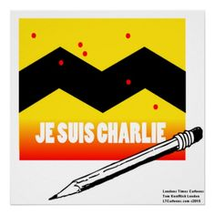 #CharlieHebdo #Jesuischarlie #Collectible #Poster by @LTCartoons @zazzle 50%off Use code ZAZZARTGIFTS @c/o #france #memorial #gift #sale #wallart #art Ends Sat 12amPT