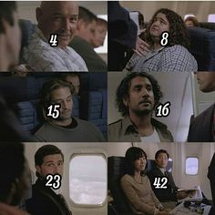 4, 8, 15, 16, 23, 42... the numbers  // ⚫ credits to @lost.flight815 on instagram ⚫