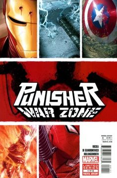 Browse the Marvel Comics issue Punisher: War Zone Learn where to read it, and check out the comic's cover art, variants, writers, & more! Punisher Marvel, Marvel Dc, Marvel Comics, Comic Book Covers, Comic Books, Comic Art, Books New Releases, The War Zone, Comic Reviews
