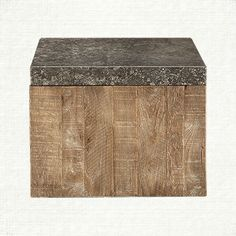 """For Lynx.  Thayer 24"""" Cube in Ashland Natural 