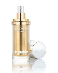 Luxury skincare: La Prairie Cellular Radiance Perfecting Fluide Pure Gold