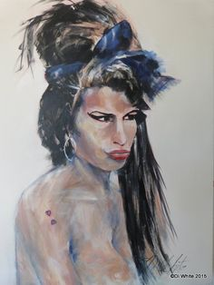 'Amy' acrylic on canvas: x Real People, Talk To Me, New Art, My Arts, Art News, Portrait, Canvas, Amy, June