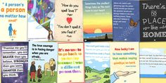 Reading Corner Display Quotes Poster Pack - display, reading, corner, quotes