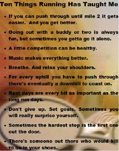 10 Things Running Has Taught Me