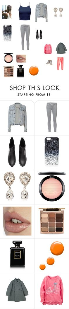 """Going out to my friends to give and receive Christmas presents with Bella"" by bellzellz ❤ liked on Polyvore featuring rag & bone, Mother, Marc by Marc Jacobs, Dolce&Gabbana, MAC Cosmetics, Stila, Chanel, Topshop and Gymboree"