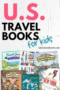 Introduce kids to different cities with these children's books about the USA!