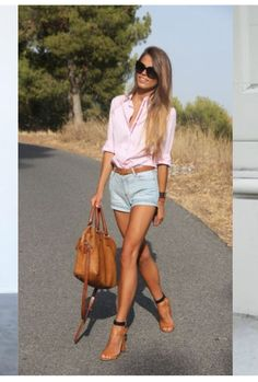 Cute Cut Off Short Outfits To Wear This Summer