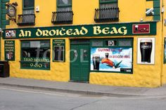 An Droichead Beag pub in Dingle County Kerry Ireland