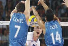 Argentina vs Polonia (London 2012) Argentine Block
