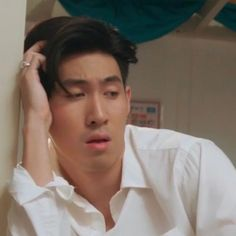 Reaction Face, Thai Tea, Drama Memes, Memes Funny Faces, Thai Drama, Going Out, Gay, Mood, Actors