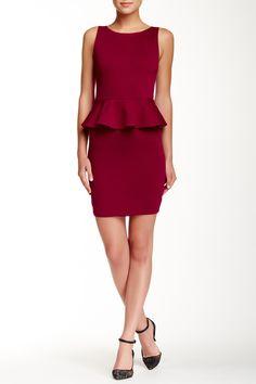 Classic alice + olivia Peplum Dress